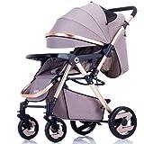 SUBBYE Kinderwagen Baby Trolley Licht Umbrella Auto Vier-Rad-Kollision Falten kann Liegen Kinderwagen Baby-Kinderwagen