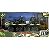 World Peacekeepers Military Amphibian Playset by Power Team Elite