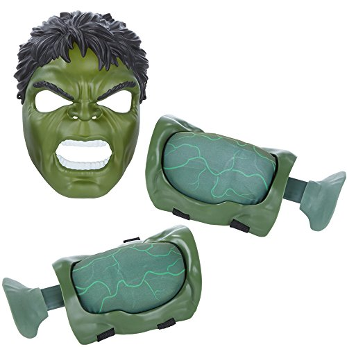Image of Marvel Avengers Age of Ultron Hulk Muscles and Mask