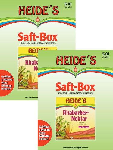 Preisvergleich Produktbild Rhabarber-Nektar, 2 x 5 Liter