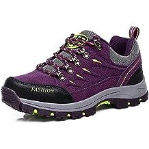 81d74767dca87 Easondea Zapatillas de Trekking para Hombres Mujeres Zapatillas de  Senderismo Unisex Botas de Montaña Antideslizantes AL