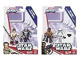 PlaySkool Heroes Galactic Heroes Star Wars Set of 4: Rey, Captain Phasma, Finn, & Storm Trooper