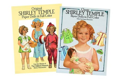 Favorite Shirley Temple Paper Dolls