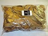 Progom - Elastiques - 400(Ø255)mm x 22mm -blond - sac de 1kg