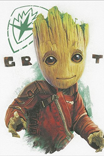 Guardians of the Galaxy 2 - Groot Girl-Shirt Weiß Weiß
