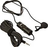 #6: Boya by M1 Lavalier Microphone for Smartphones, Canon, Nikon DSLR Cameras and Camcorders