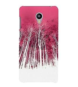 Colorful Forest 3D Hard Polycarbonate Designer Back Case Cover for Meizu M2