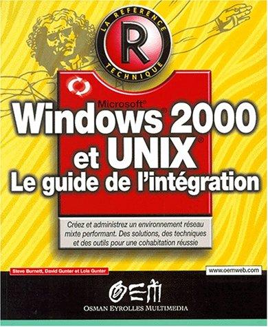 Windows 2000 et Unix, référence par Burnett