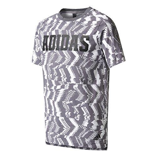 adidas Yb Xcite T Shirt, Kinder, Kinder, YB Xcite Tee, Weiß (Weiß/gritra), 140