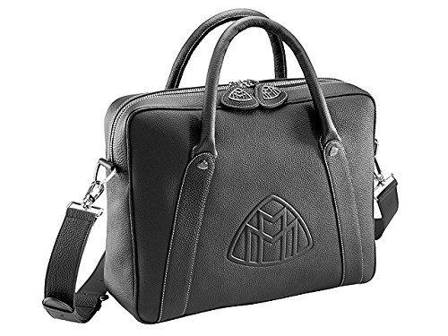 original-maybach-cartera-de-negocios-negro-bolsa-de-viaje-mercedes-benz