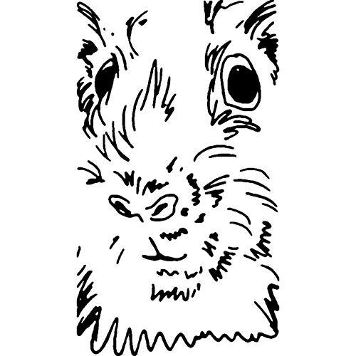 Stempel « Meerschweinchen » Adressenstempel Motivstempel Holzstempel
