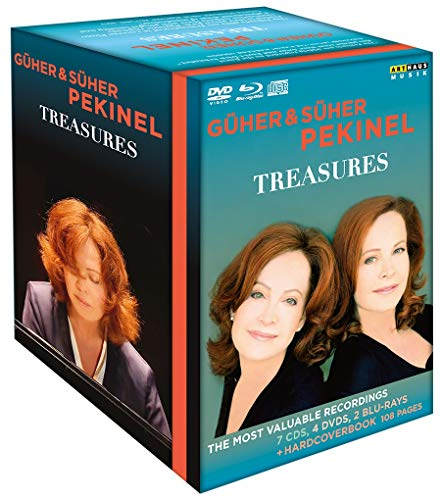 Treasures - Güher & Süher Pekinel  (+ 2 Blu-rays + 7 CDs) [4 DVDs]