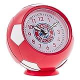 FC Bayern München Wecker, Uhr im Fußball-Look FCB - Plus Lesezeichen I Love München