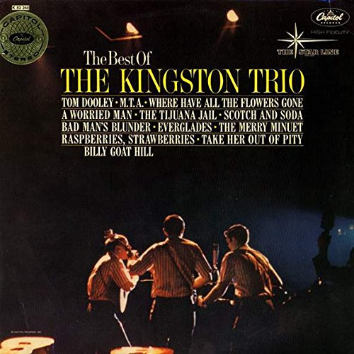 Kingston Trio - The Best Of The Kingston Trio - Capitol Records - STK 83240, Capitol Records - ST-1705