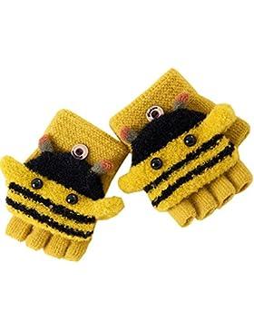 Artone Thermo Isolierung Halbfinger Handschuhe mit Fäustlinge Klappe