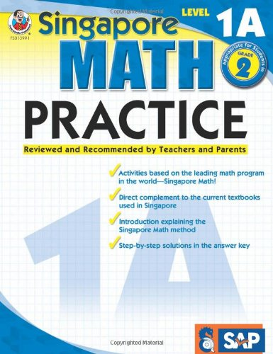 Math Practice, Grade 2: Reviewed and Recommended by Teachers and Parents (Singapore Math Practice)
