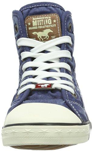 Mustang1099502 - Stivali Donna Blu (841 Jeans Blau)