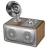 TSSM Retro mit 2.1 Stereo Bluetooth Lautsprecher kabellos kreativ tragbar Holz Power Card Radio NFC Funktion verfeinert Aussehen Home Party -