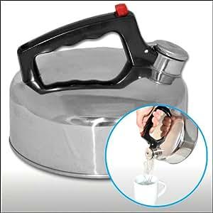 Flötenkessel Wasserkessel aus rostfreiem Edelstahl - 2 Liter