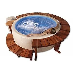 softub whirlpool 140 sportster innenliner blue almond blue garten. Black Bedroom Furniture Sets. Home Design Ideas