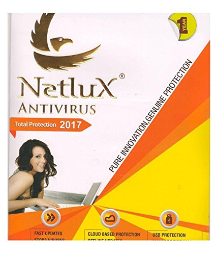 Netlux Anti Virus Protection for Laptop and PC (1 User 1 Year) (CD)