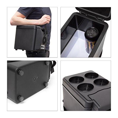 Relaxdays Kühlbox 6l Isolierbox für das Auto - 5