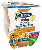 Hero Baby - Cocina Mediterránea Paella Con Verduritas Tiernas Y Pollo - [Pack de 6]