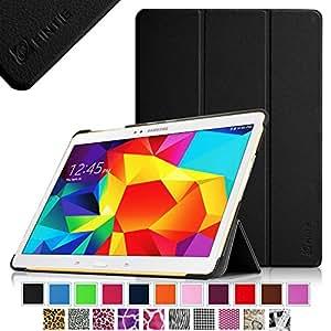 Fintie Samsung Galaxy Tab S 10.5 Hülle Case - Ultra Schlank superleicht Ständer Smart Shell Cover Schutzhülle Etui Tasche mit Auto Schlaf / Wach Funktion für Samsung Galaxy Tab S 10.5 T800 T805 (10,5 Zoll) Tablet-PC, Schwarz