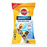 #6: Pedigree Dentastix Small Breed Dog Oral Care, 110 g Weekly Pack (7 Sticks)