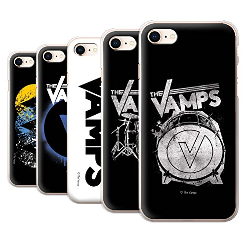 Offiziell The Vamps Hülle / Case für Apple iPhone 8 / Pack 6pcs Muster / The Vamps Graffiti Band Logo Kollektion Pack 6pcs