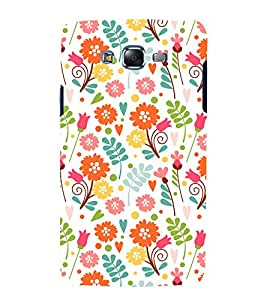 printtech Floral Designer Pattern Back Case Cover for Samsung Galaxy A3 /Samsung Galaxy A3 A300F