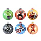 Marvel Official Avengers Bauble Pack (6 Pack)