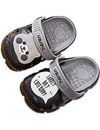 fc006f418 hysxm Nuevos Zapatos De Verano para Niños Zapatillas De Animales De Dibujos  Animados Lindos PVC Bebé