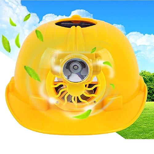 Paquete incluido: 1 * Casco de seguridad con ventilador de energía solar Descripción:  Este artículo está diseñado para ofrecer protección y frescor a las personas que necesitan un casco de seguridad en verano. Este casco hace que su trabajo sea más ...