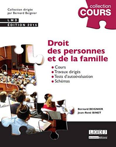 Droit des personnes et de la famille, 2me Ed.