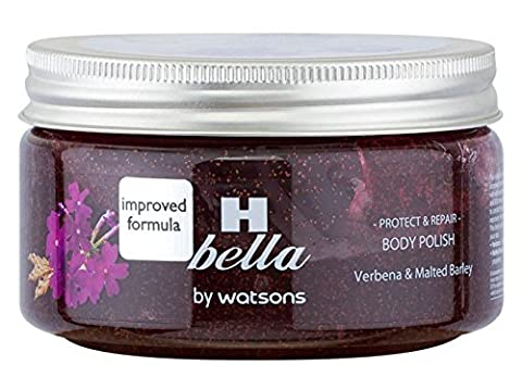 3 Pack H Bella Protect & Repair Body Polish Verbena