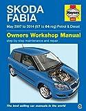 Haynes - Skoda-Fabia-Reparaturhandbuch / Werkstatthandbuch 2007–2014 (evtl. nicht in deutscher Sprache)