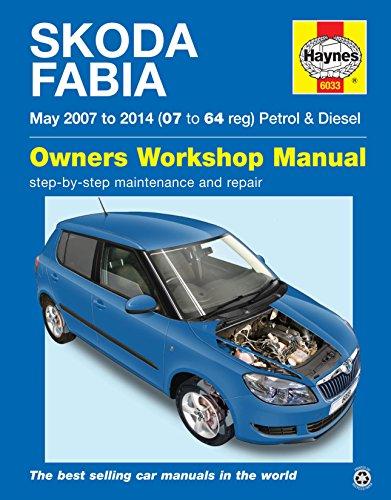 Skoda Fabia Reparatur Handbuch Haynes Handbuch Werkstatt Service manuell 2007–2014