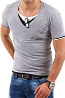 MT Styles 3in1 T-Shirt V-Neck BS-502