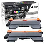 GPC Image 2 Pack Kompatibel Toner Patronen für Brother TN2220 TN2010 TN-2220 TN-2010 für Brother MFC-7360N HL-2130 DCP-7055 FAX-2840 FAX-2940 FAX-2845 MFC-7460DN HL-2250DN HL-2240D HL-2240 HL-2135W
