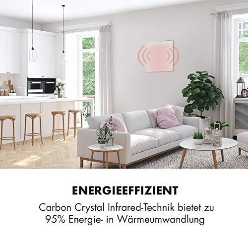 Klarstein Wonderwall 36 Infrarot-Heizung • Wandheizung • 60 x 60 cm Heizpanel • 360 Bild 2*