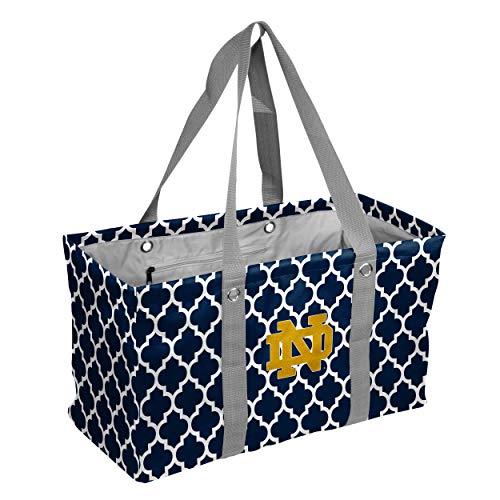 Logo Brands NCAA Notre Dame Fighting Irish Unisex Notre Dame Vierpass-Picknick caddynotre Dame Vierpass-Picknick Caddy, Marineblau, Erwachsene Dish Caddy