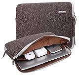KAYOND Herringbone Woollen Water-resistant 11 inch laptop sleeve with pocket for 11 inch