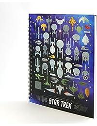 Star Trek Spacecraft Hardcover Notebook