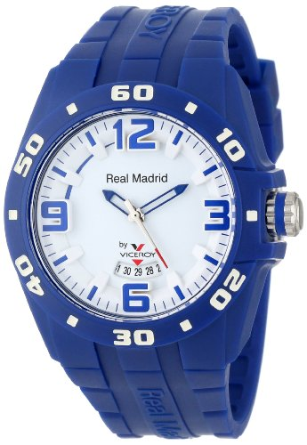 Viceroy Women's 432851-35 Real Madrid Sports Plastic Blue Rubber Date Watch