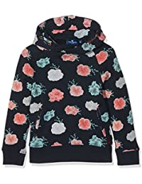 Tom Tailor Sweet Hoody with Flowers, Sweat-Shirt Fille