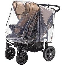 DIAGO 30008.75265 - Protección para la lluvia para sillita gemelar