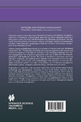 Integrated Management from E-Business Perspective: Concepts, Architectures and Methodologies (Network and Systems Management)