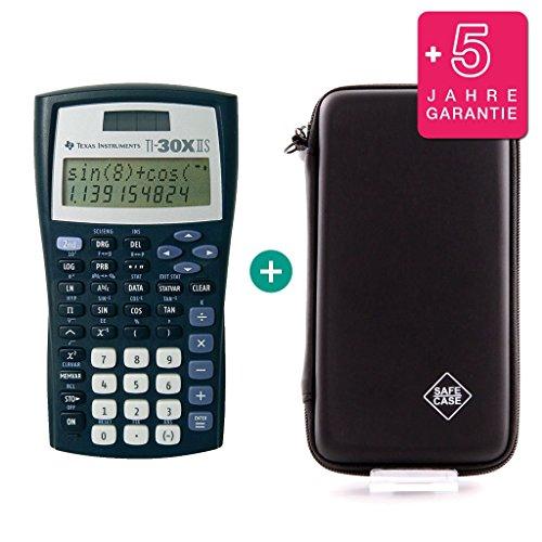 Texas Instruments TI-30XIIS + Schutztasche + Erweiterte Garantie