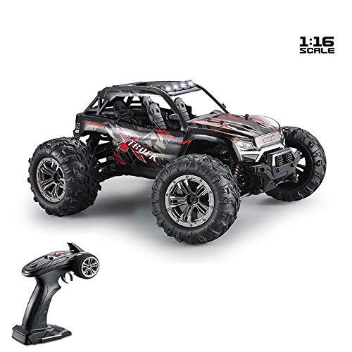 Link Co Ferngesteuertes Auto 1:16 Hochgeschwindigkeits-Geländewagen Modell 4 Fahren Sie EIN elektrisches Spielzeugauto für Kinder,Red